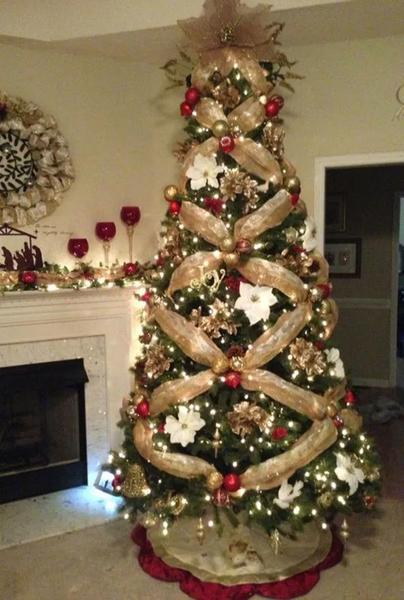 25+ Elegant christmas tree decorating ideas ideas