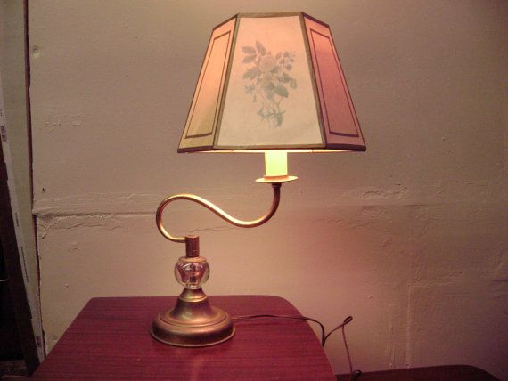 Antique Circa 1930s To 1940s Unusual Brass Art Deco Table Lamp Or Library Lamp Art Deco Table Lamps Library Lamp Brass Art