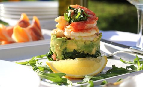 Prawn And Avocado Stack Recipe