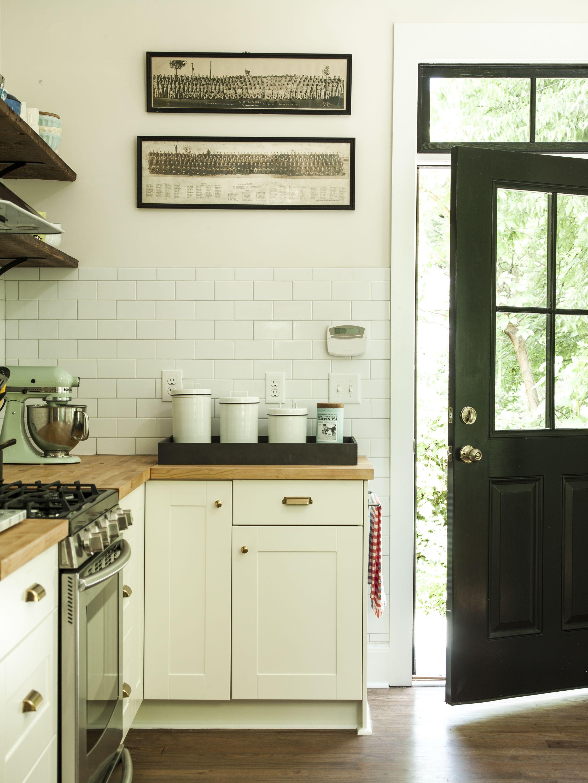 White Kitchen Decorating Ideas Pos | Modern Farmhouse Renovation Old House White Farmhouse Kitchens