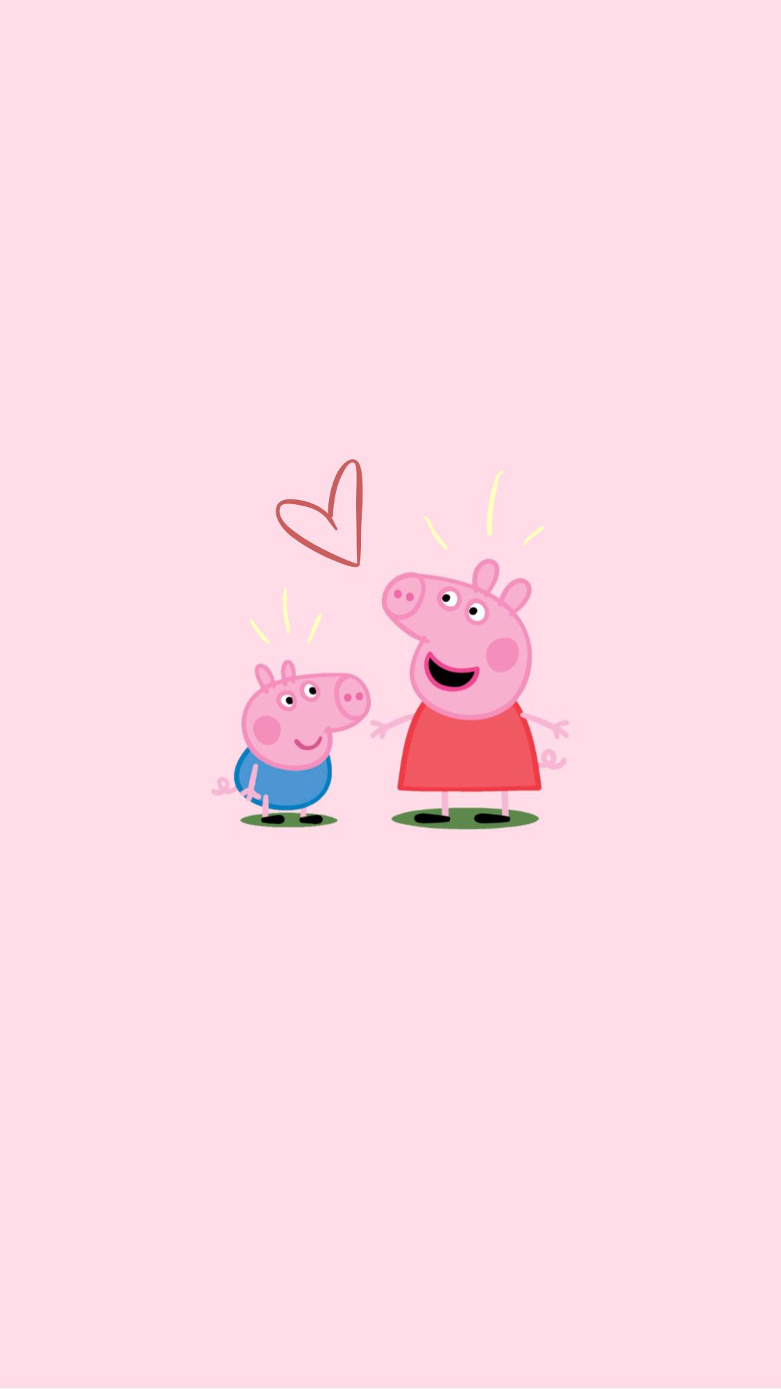 peppa pig wallpaper! Cartoon wallpaper iphone, Peppa pig
