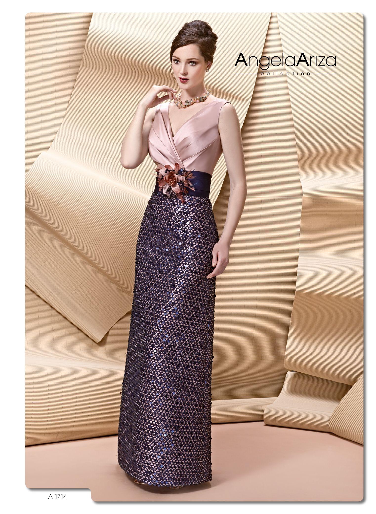 A vestido de madrina Ángela ariza tamaño extra pinterest
