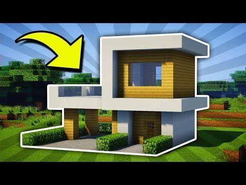 Minecraft Small Modern House Tutorial [ 11] PC Xbox e PS4 PE Xbox360 PS3