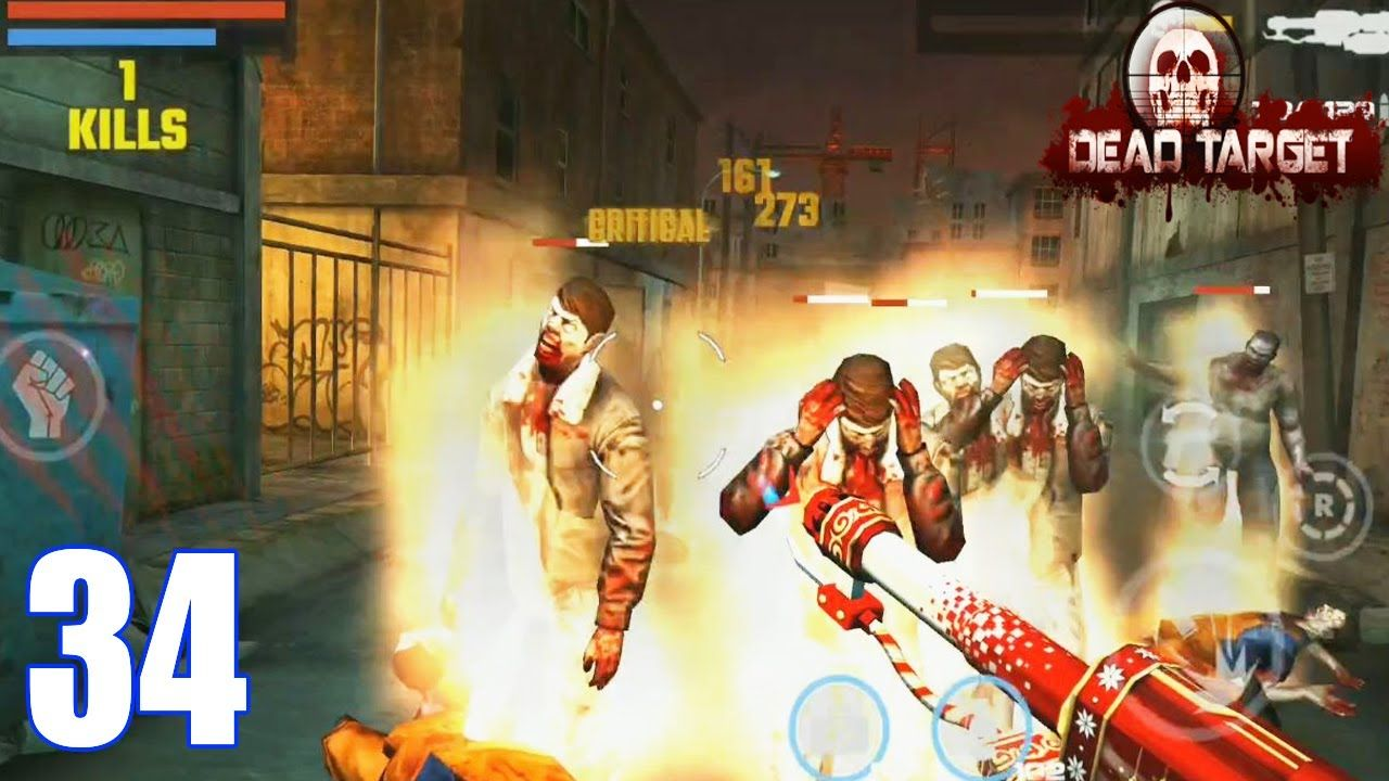 Dead Target Game Offline Zombie Shooting FPS Survival