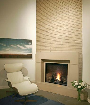 Marvelous Modern Fireplace Tile #9 Contemporary Tile Fireplace ...