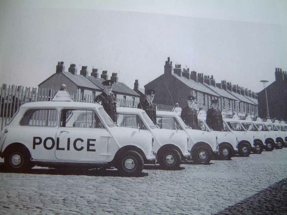 1968 Morris Mini Police Cooper S Silodrome Police Cars Police British Police Cars