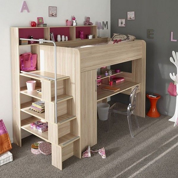Space Saving Loft Bed with Fun Ideas