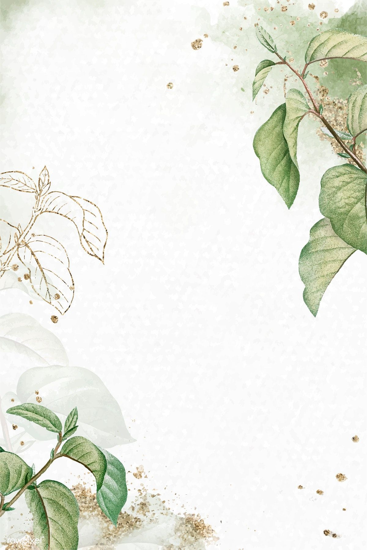 Briançon apricot leaf pattern background vector | premium image by rawpixel.com / Aum
