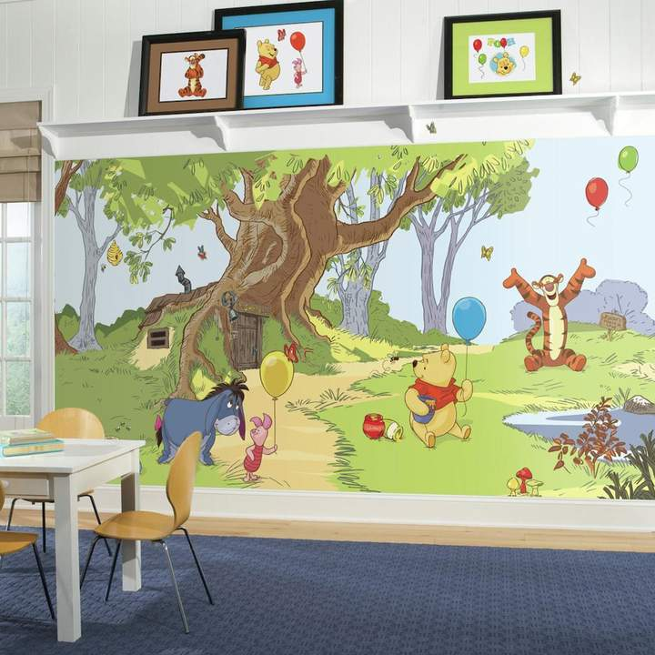 Disney's Winnie The Pooh & Friends Removable Wallpaper