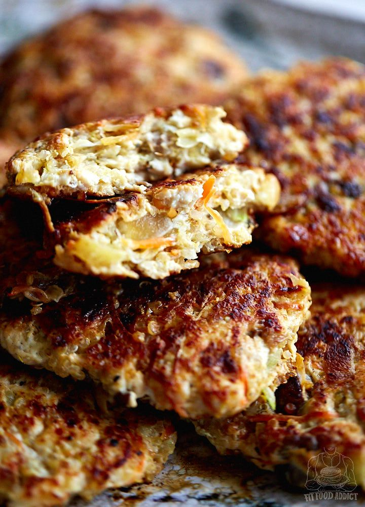 Healthy Yet Ridiculously Tasty Pan Fried Chicken Patties Also Can