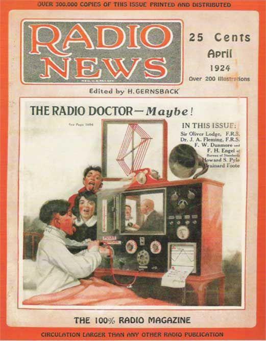 Radio News 1924 Old Time Radio Vintage Radio Shortwave Radio