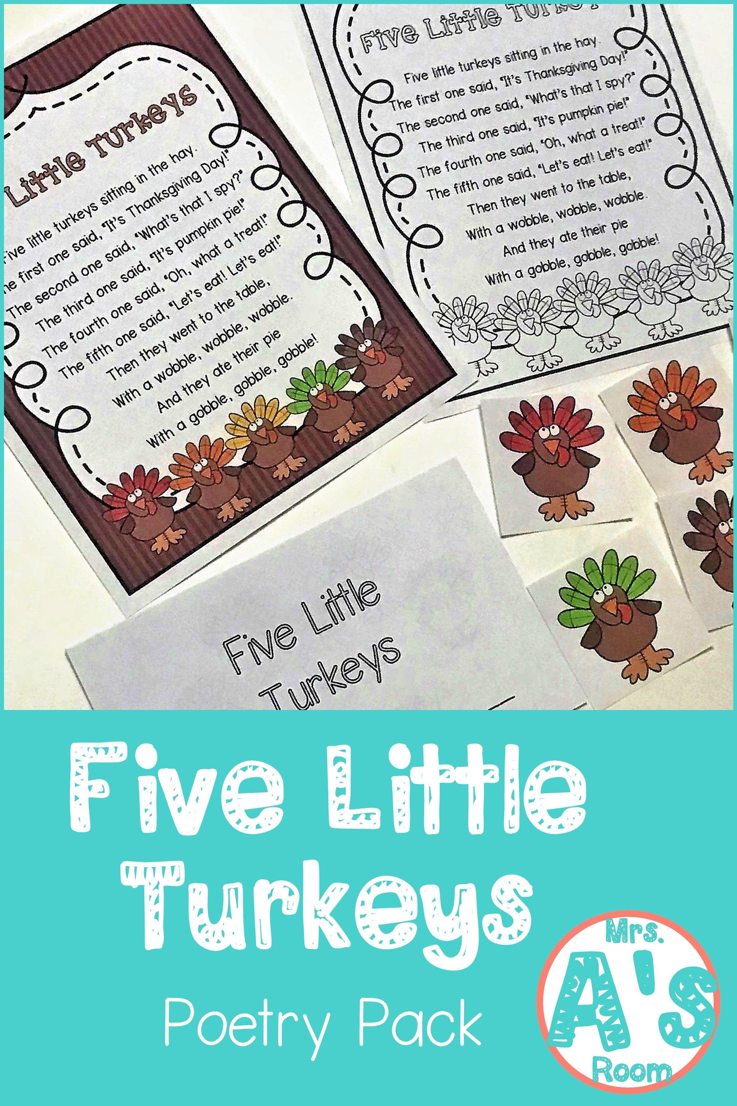 Thanksgiving Poems For Preschool