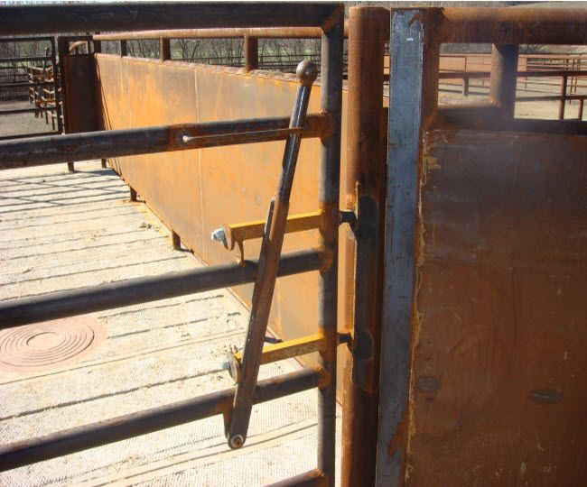Homemade Lift Lever For Gate : Spring lever latch cattle pens ideas pinterest