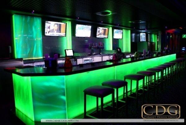 Productive Nightclub Design Multiple Bars For Maximum Profits - Bar design tribe hyperclub by paolo viera