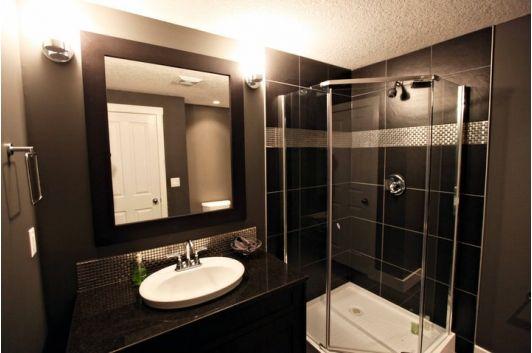 beautiful bathroom design with glass shower enclosure on bathroom renovation ideas nz id=20506