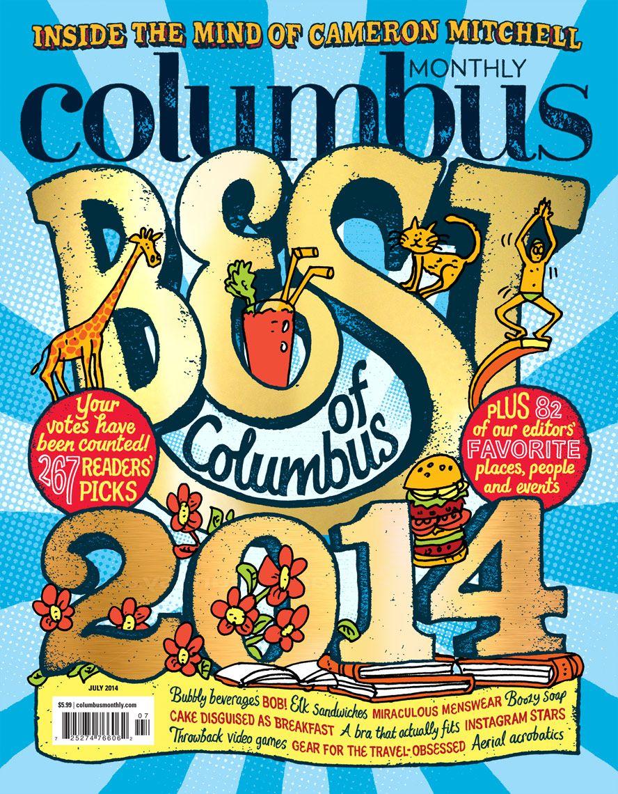 col.jpg Columbus, City magazine, Magazine cover