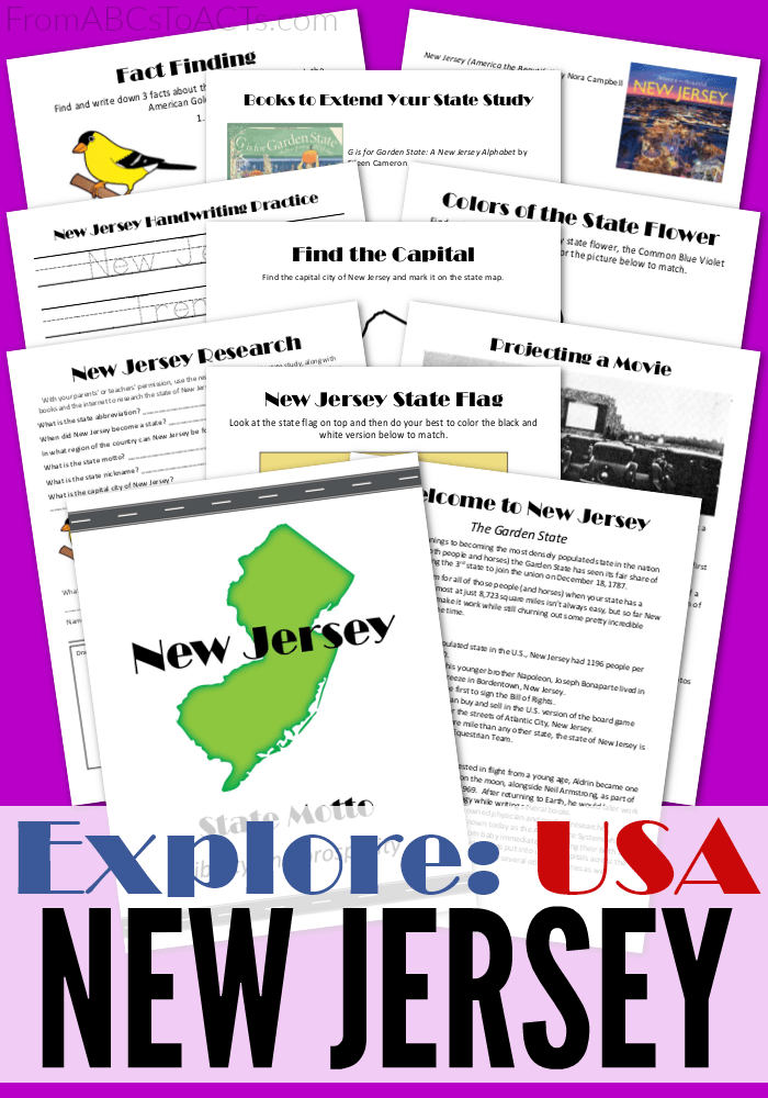 Explore Usa New Jersey New Jersey Geography Lessons Jersey Day