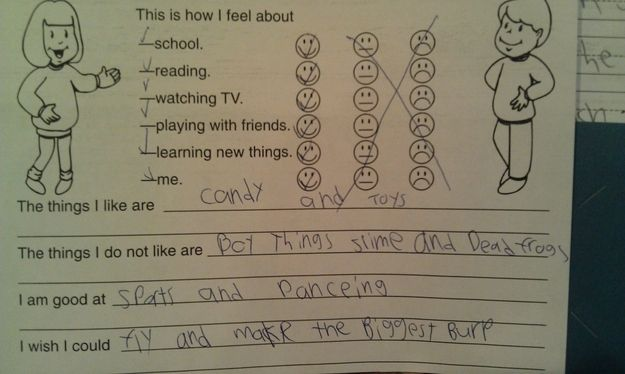 This girl has is all figured out. | 26 Kids Who Are Definitely Going Places