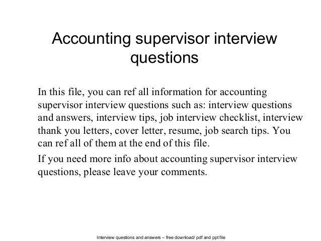 Interview Questions And Answers Free Download Pdf Ppt Thank You
