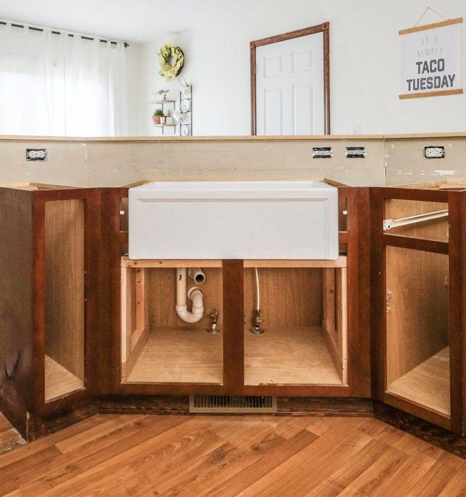 DIY Farmhouse Sink Installation Easy Stepbystep