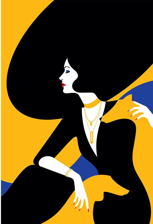 50 Macam Macam Motif Batik Lengkap Art Deco Illustration Art