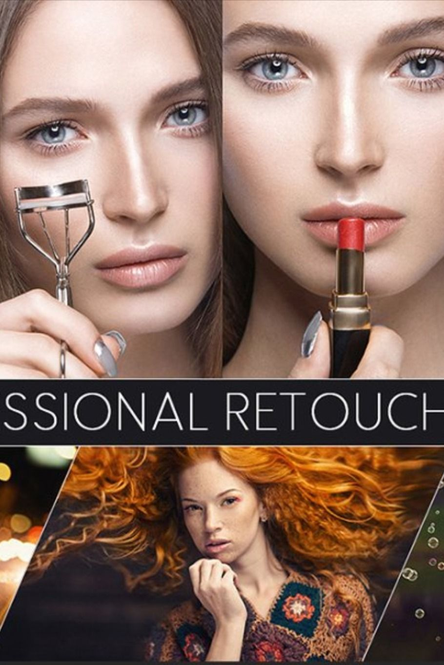 100 Professional Retouch Actions Skin retouching