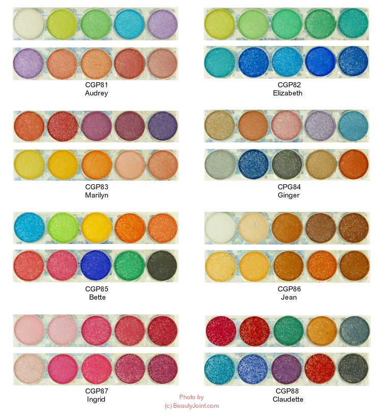 Awesome Eye Shadow Coordinating Colors