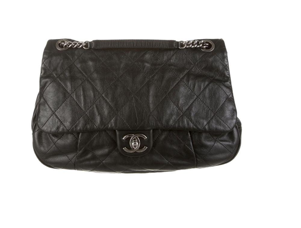 9fe3e37c0363 Extra Large Chanel Flap Bag | Designer Women's Fashion in 2019 ...