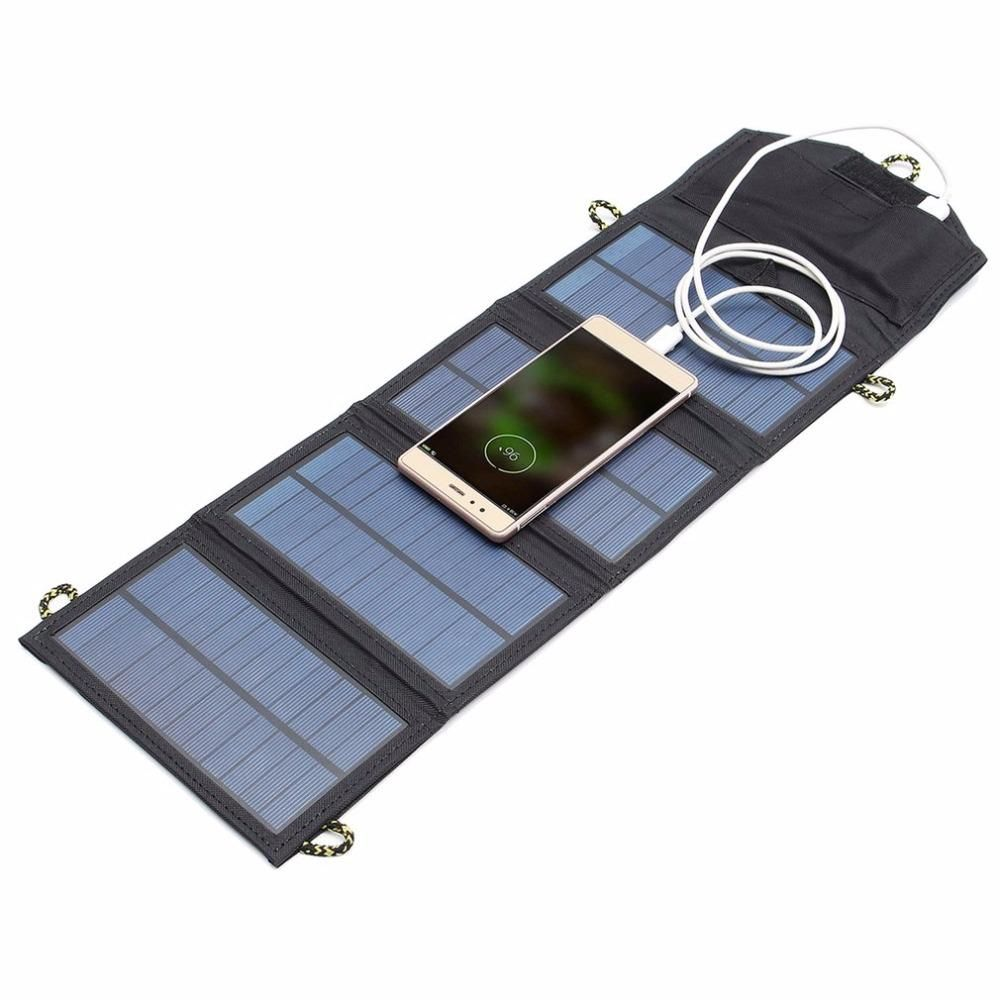 Cellphone Solar Power Panel Usb Travel Camping Portable Battery Charger Solar Panel Charger Portable Solar Panels Solar Battery Charger