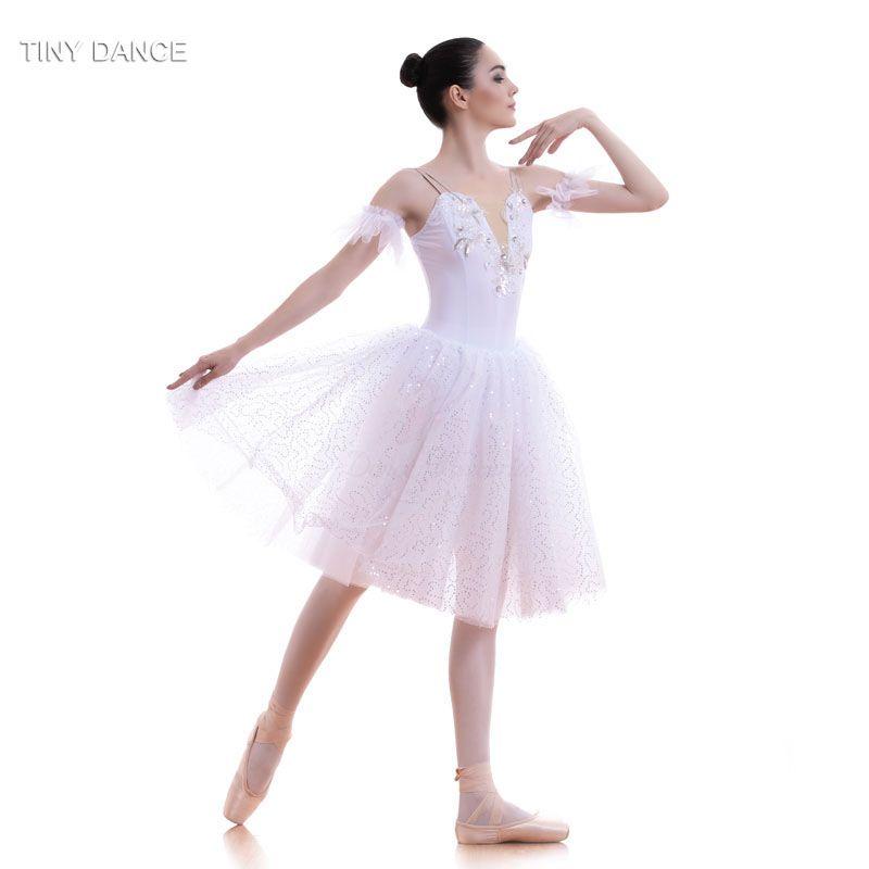 0e8983a8c New Arrival of Adult Girls Swan White Ballet Dance Tutu Leotard Dress  Performance Costume Romantic Tutus Ballerina Costume 18712-in Ballet from  Novelty ...
