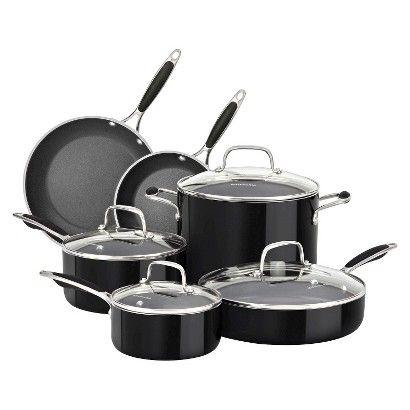 Kitchenaid 10 Piece Cast Iron Cookware Set With Images