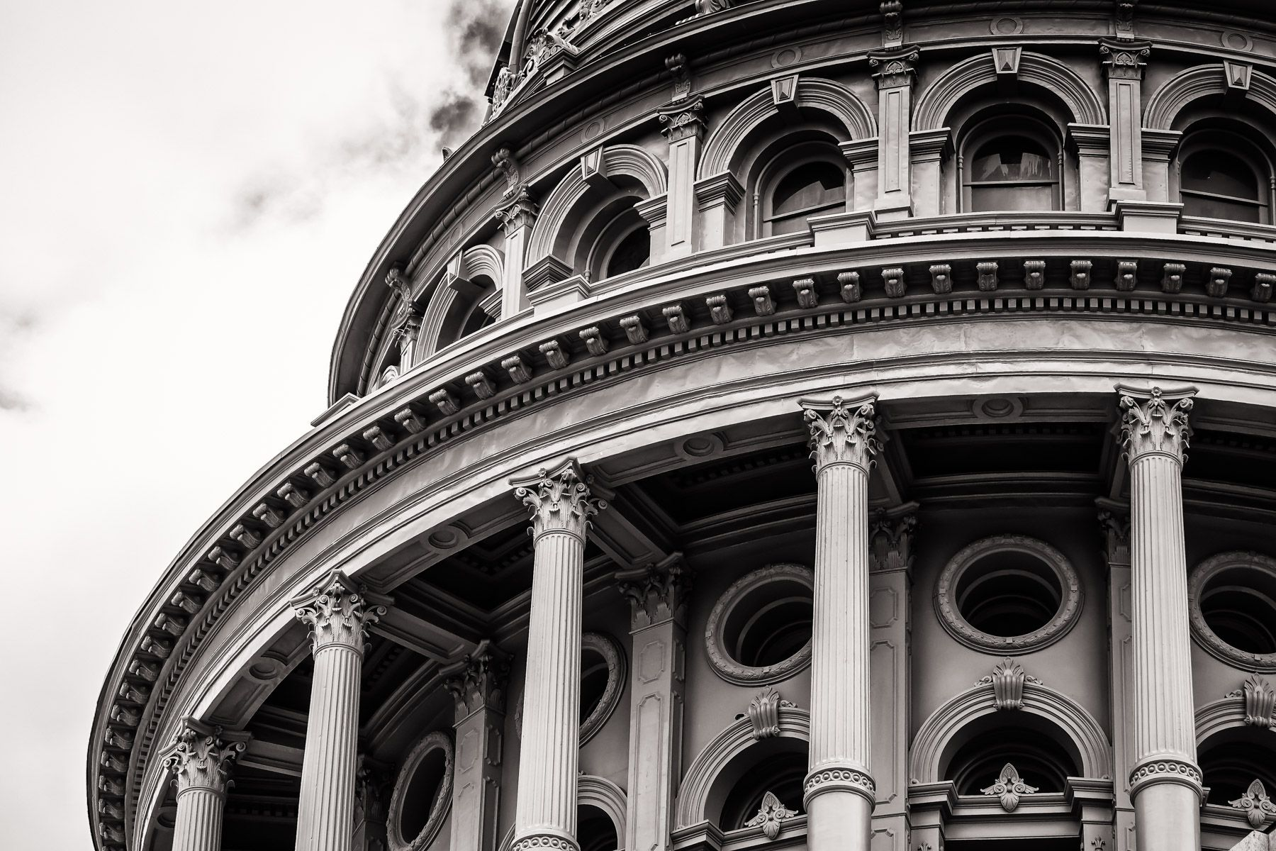architectural detail photography. Architectural Detail Of The Rotunda Texas State Capitol, Austin. Photography