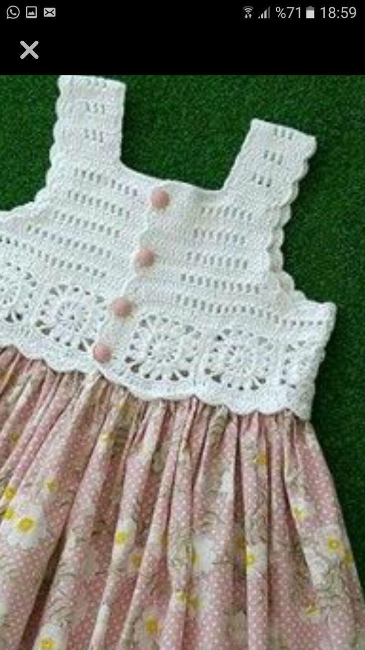 - #bebecostura #Costurandoparabebes #Costurasparabebe #Delantalparabebes #knittingpatterns #knitting #babyknitting #vestidosparabebédeganchillo