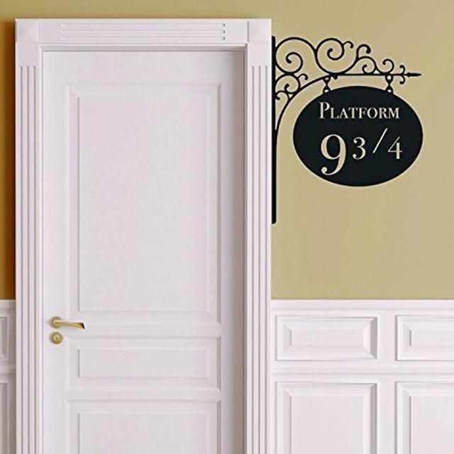 Creative Platform 9 34 Harry Potter Door Decor Sticker