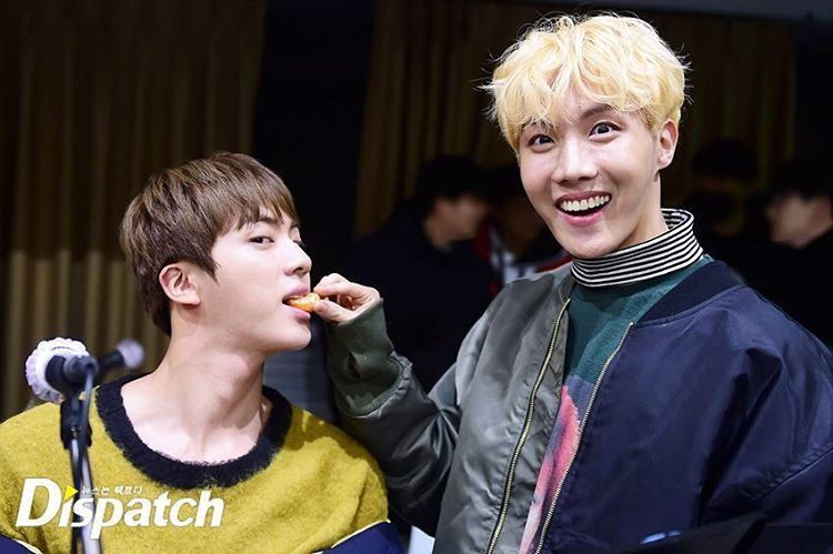 J-Hope and Jin❤ BTS Practice For The WINGS TOUR In Seoul~ Exclusive Unreleased Photos! #BTS #방탄소년단