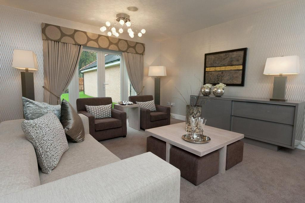 Derwent 4 Bedroom Newton Park Cambuslang Ph3 Miller Homes. Large Size Of  Bedroom Grey Brown And Teal Living Room Ideas Yes Go Including Wondrous Part 78