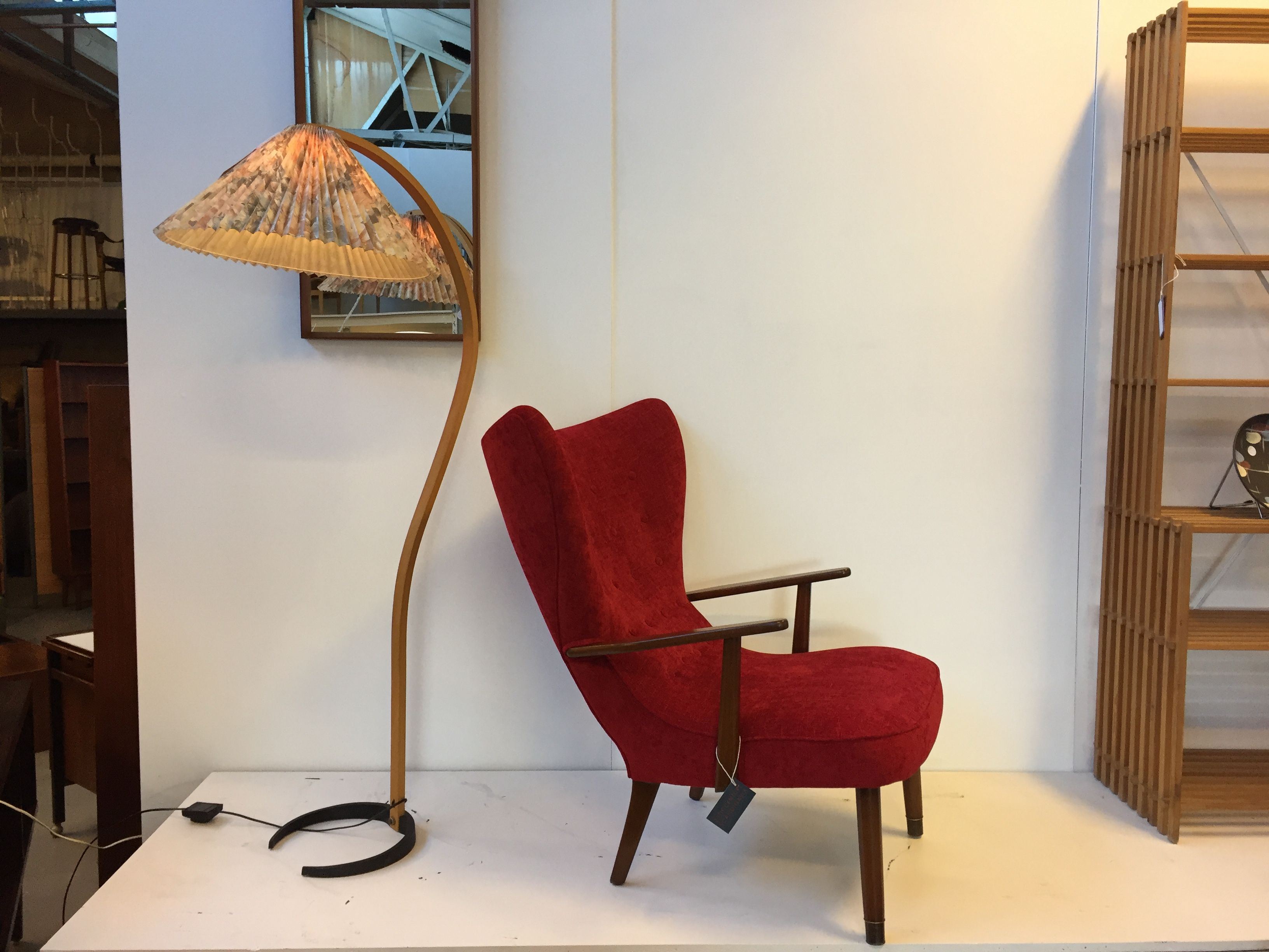 New Arrival! Newly restored and Upholstered Danish 1950's Armchair.