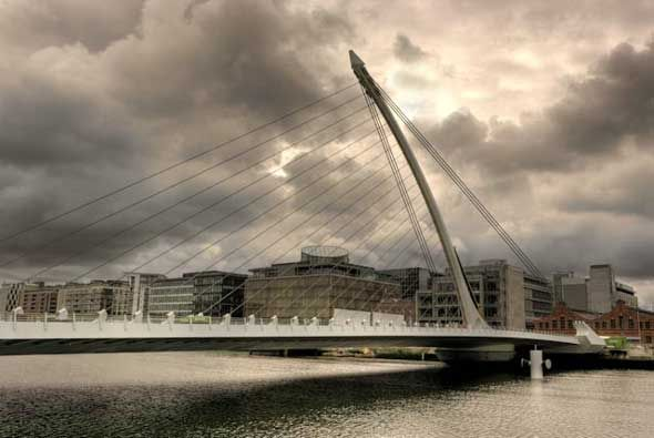 Dublin Bridge, Summer 2013
