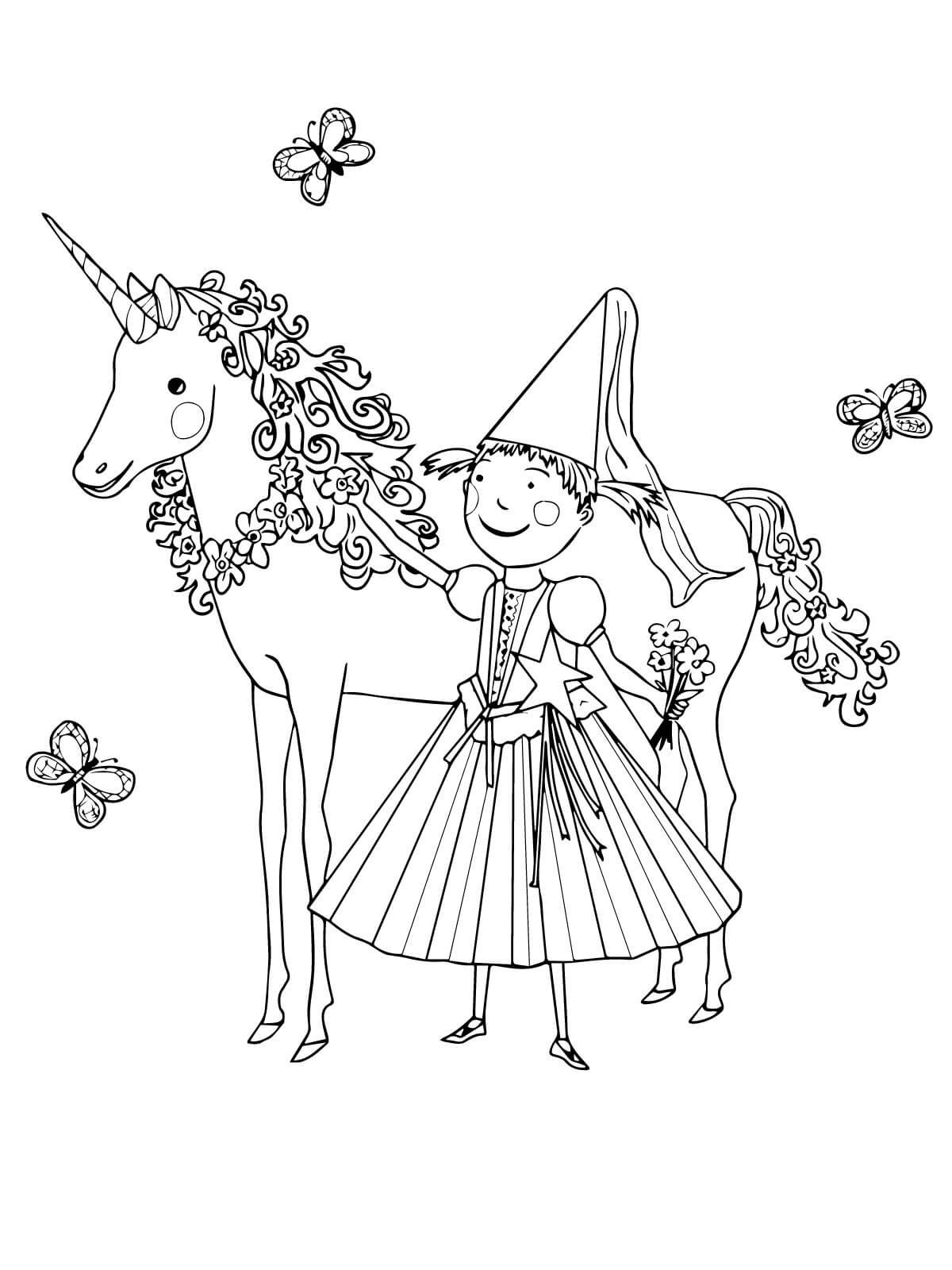 Unicorn Color Pages For Children Unicorn Coloring Pages Unicorn Pictures To Color Coloring Pages