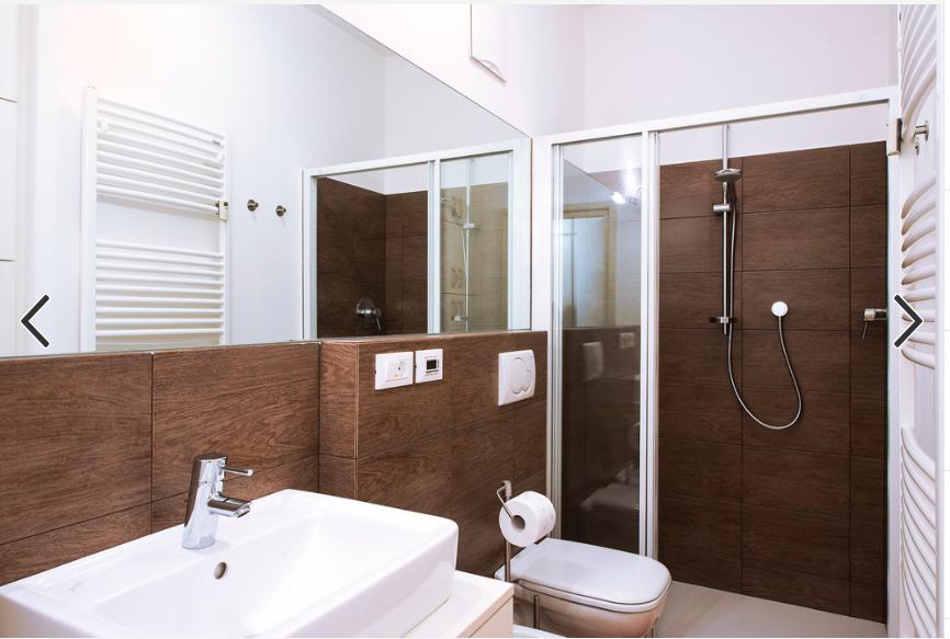 Bagno Con Muretto Sanitari Sospesi Bagno Bagni Moderni Interni