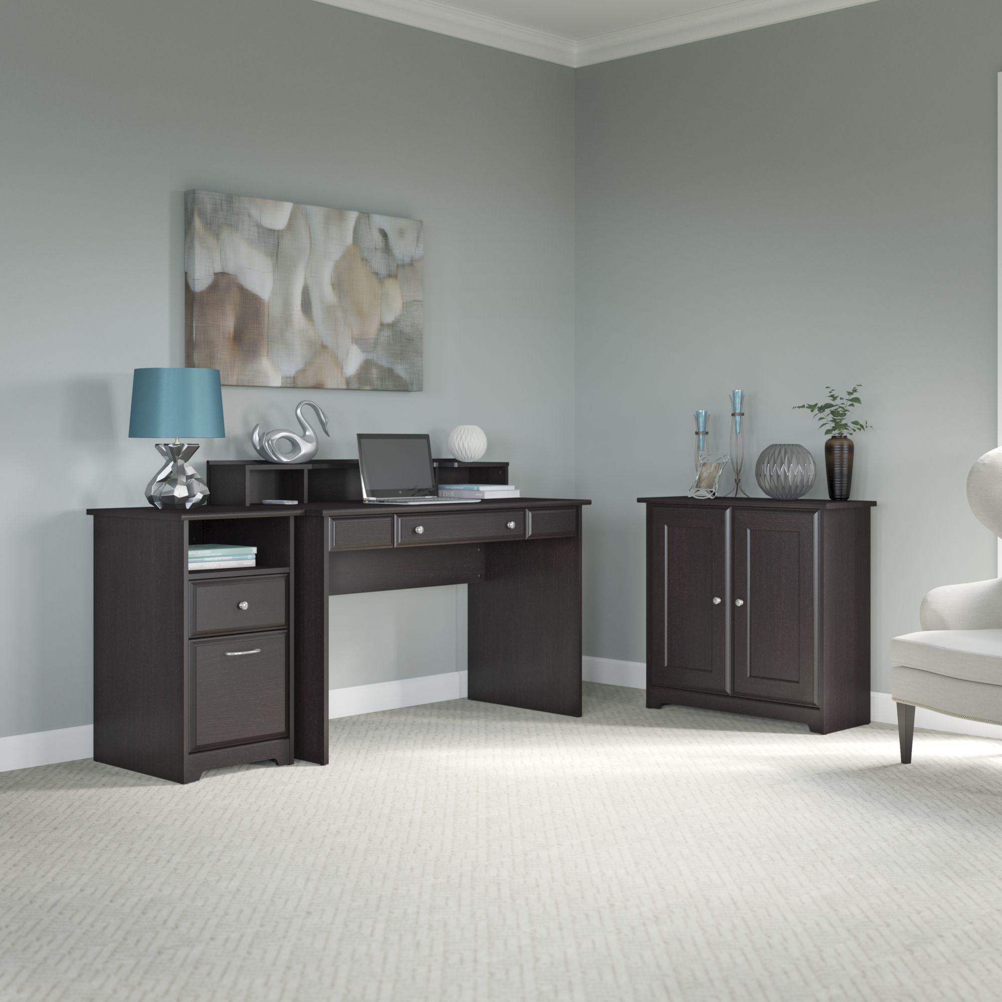 Hillsdale 3 Piece Standard Desk fice Suite