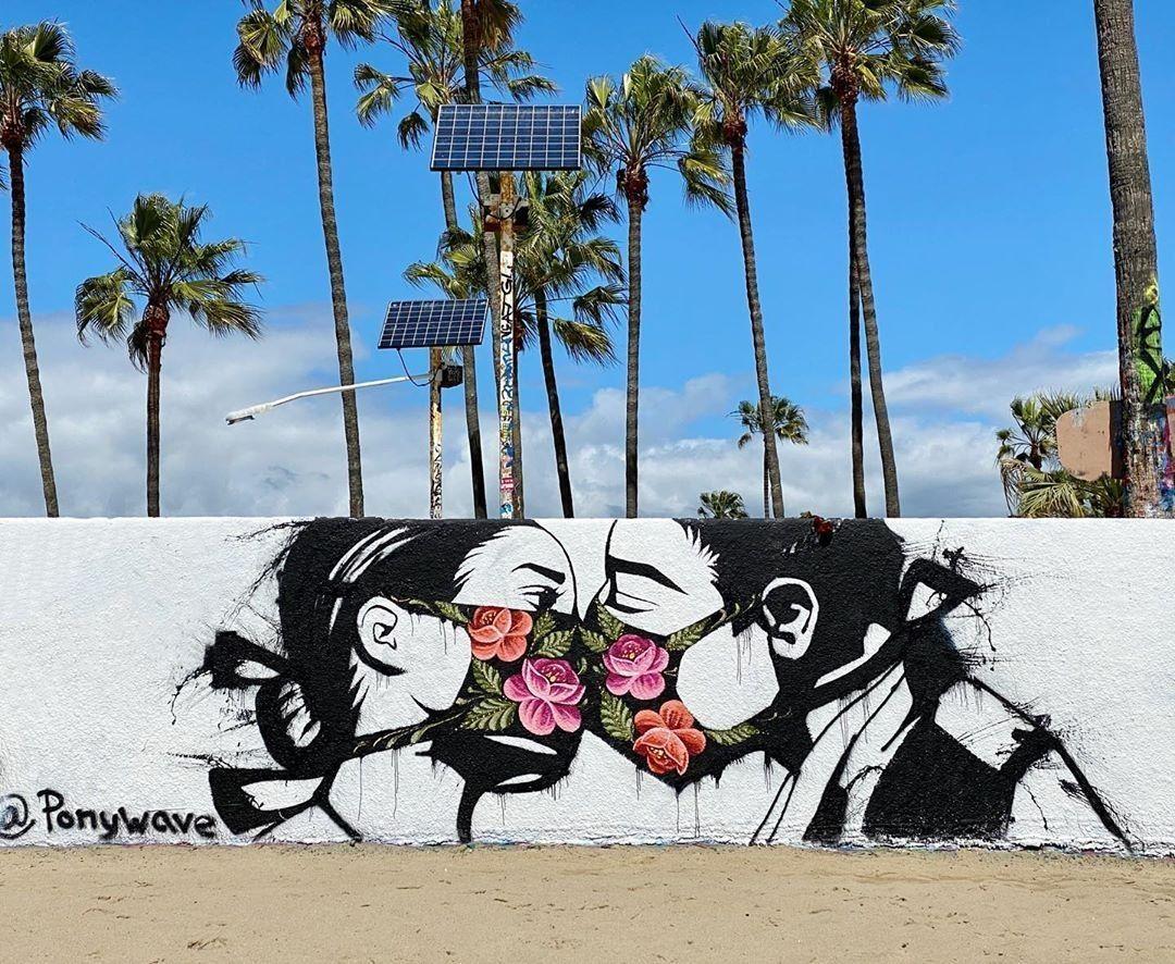 Pony Wave Murals Street Art Street Art Love Best Street Art