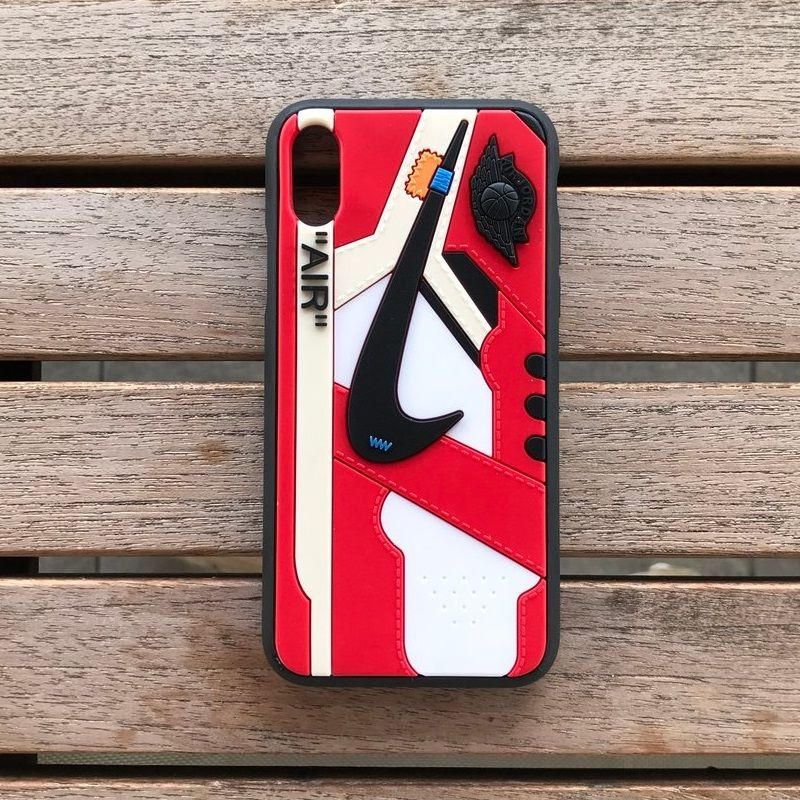 a35cd3f60e841c OFF WHITE Jordan 1 iPhone Case - Chicago in 2019