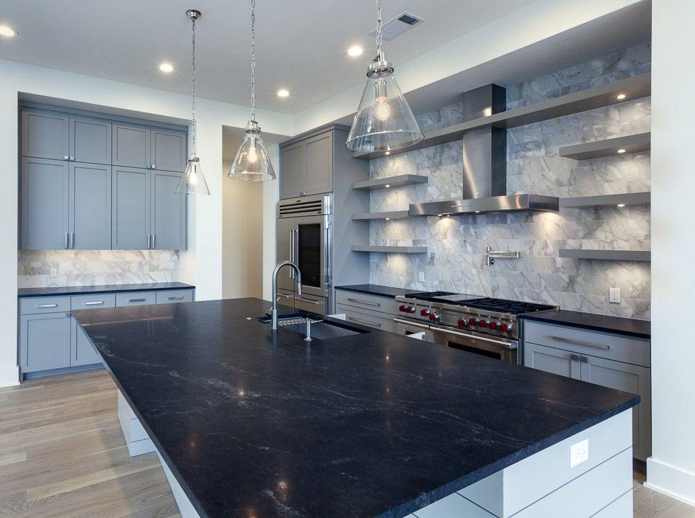 virginia mist granite polished kitchen island leather surround quartz graphite honed reviews