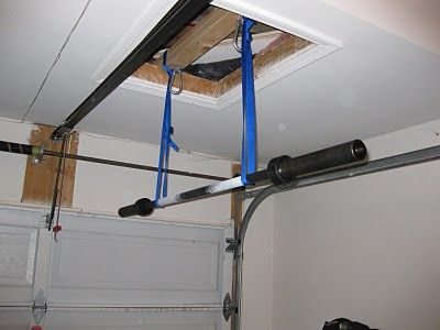 Pull Up Bar Suspended Garage Pull Up Bar At Home