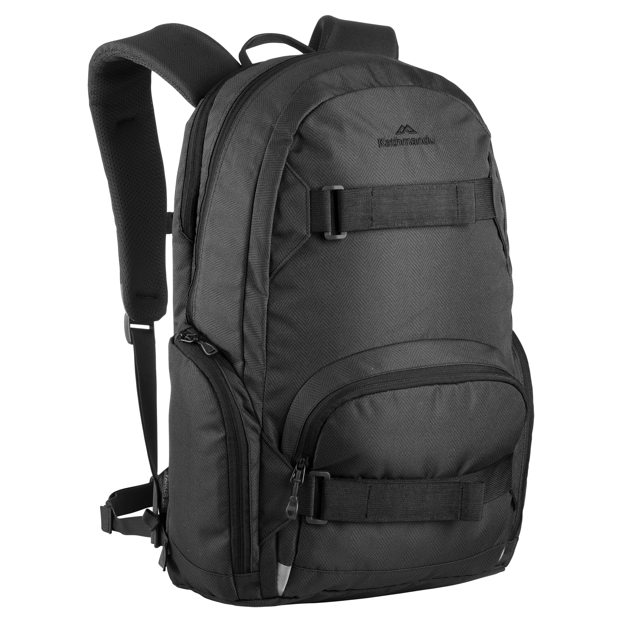 Kathmandu Black Backpack PNG Image Black backpack