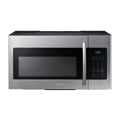 Ft Over The Range Microwave Hood Combo Me16h702ses Home Depot Canada