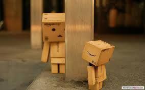 انا حزين يا بومبا وقلبى زعلان Danbo Cardboard Robot Box Art