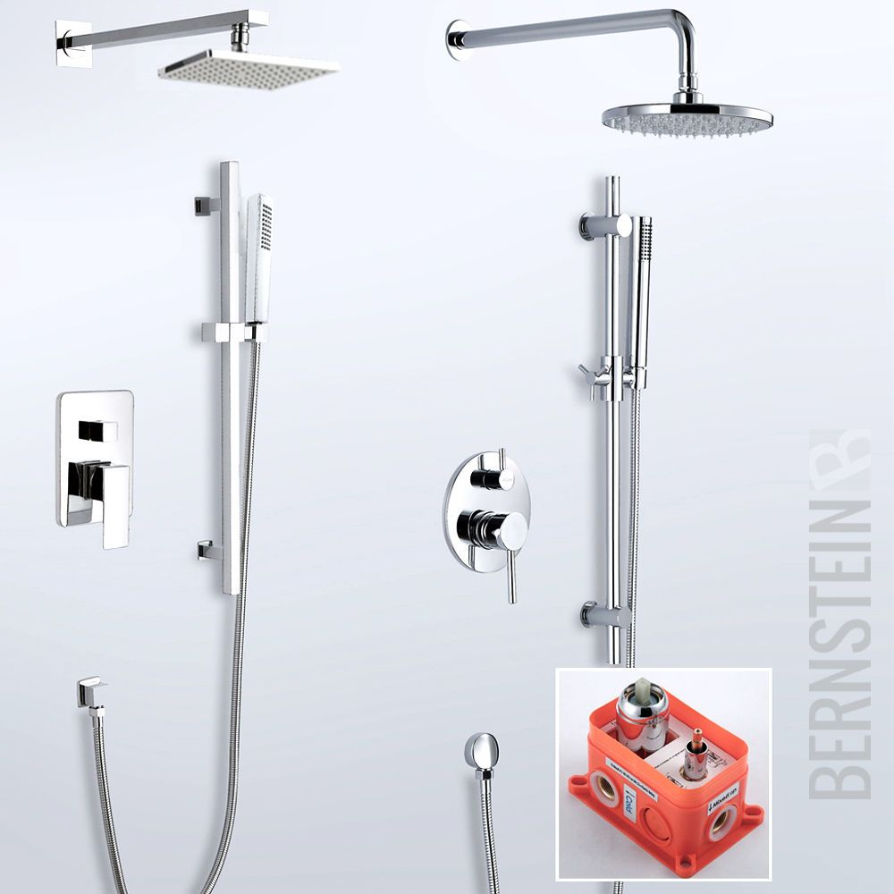 Details zu Regendusche Unterputz Duschset Duschsäule