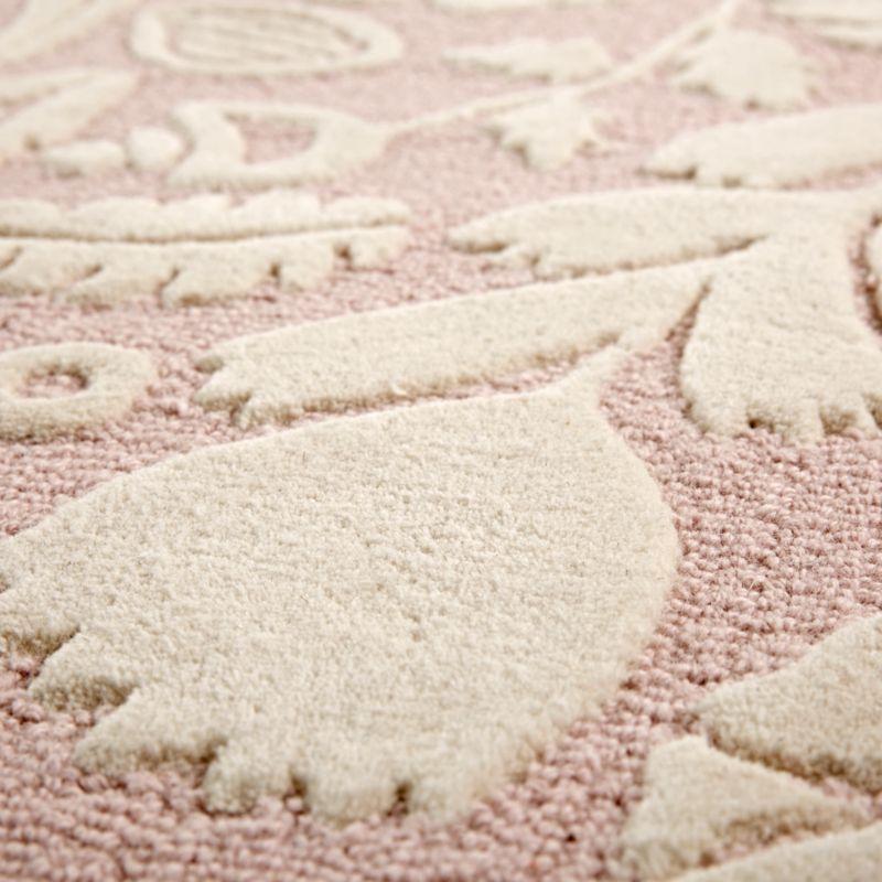 Pink Fl Rug Swatch S Rugs